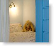 Schlafbutze in der Ferienwohnung Leuchtturm